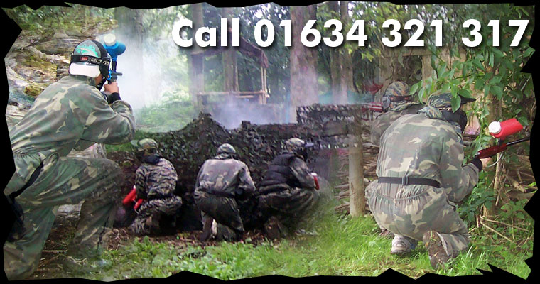 National Paintballing Games Sidcup