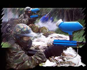 National Paintballing Games - blue team