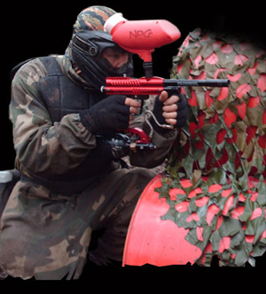 National Paintballing Games - red team